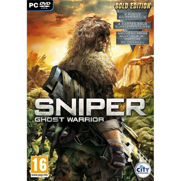 PC - Sniper: Ghost Warrior GOLD