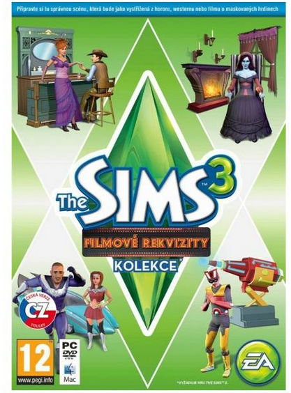 PC/MAC - The Sims 3 Filmové rekvizity