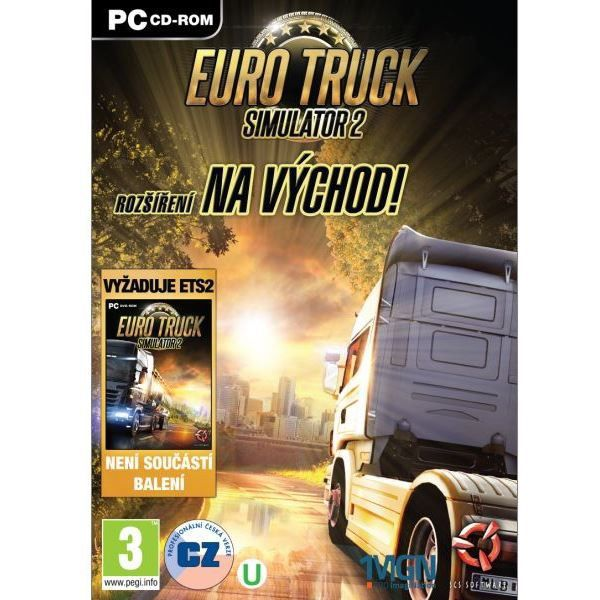 PC - Euro Truck Simulator 2: Na východ!