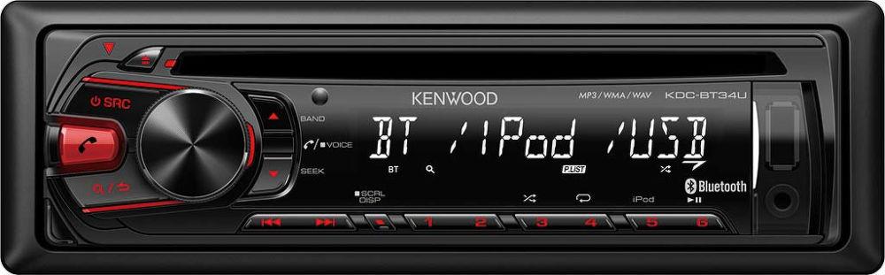 KENWOOD KDC-BT34