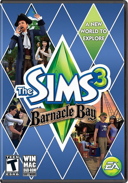 PC/MAC - THE SIMS 3 BARNACLE BAY (PC ONLINE)