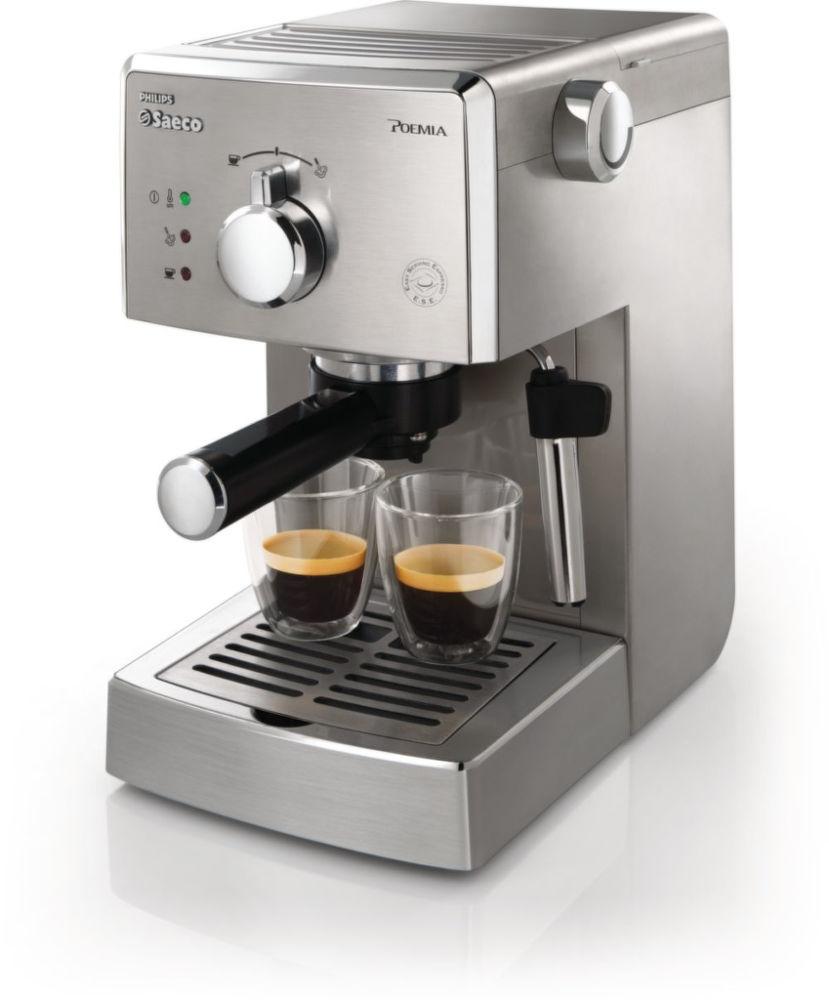 PHILIPS SAECO HD8327/99, Pákové espresso