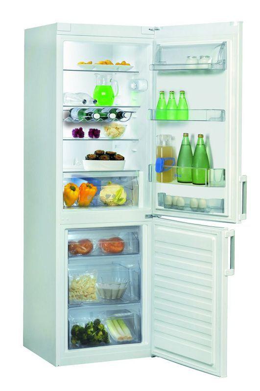 Využiteľný objem - WHIRLPOOL WBE 34162 W, kombinovana chladnicka