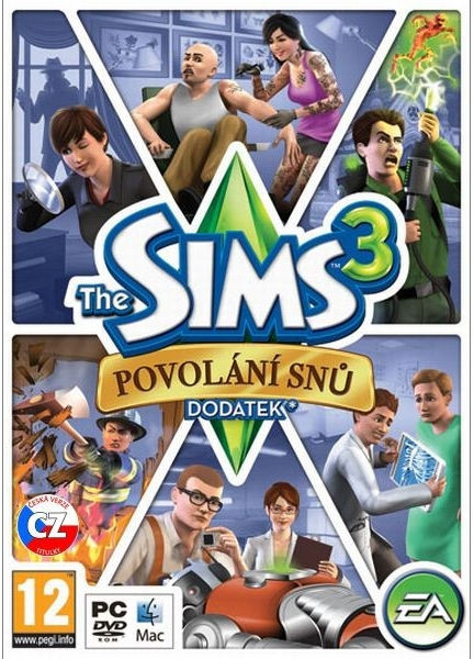 PC - THE SIMS 3: Povolanie snov (dodatok)