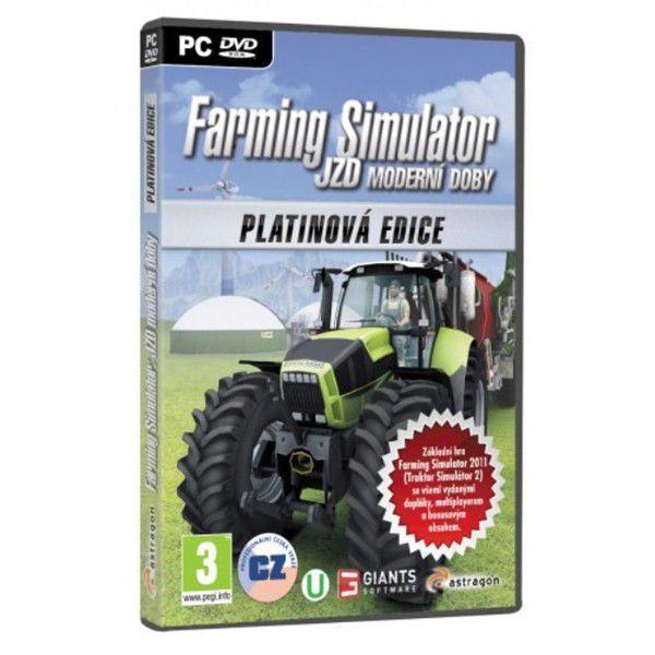 PC - Farming Simulator: JZD moderní doby - Platinová edice