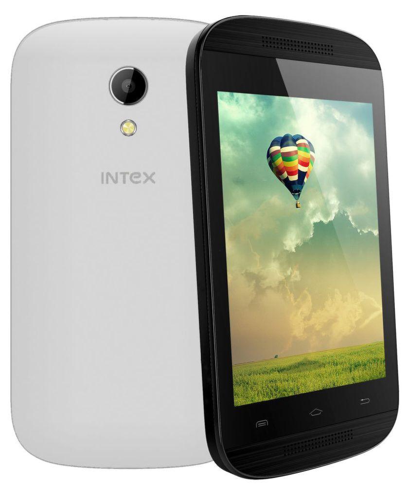 INTEX Aqua T2 Dual SIM White