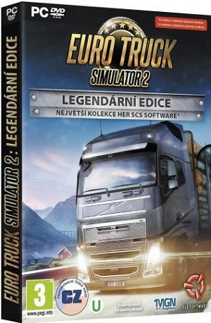 PC- Euro Truck Simulator 2: Legendární edice