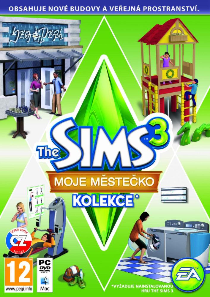 PC/MAC - THE SIMS 3 MOJE MĚSTEČKO KOLEKCE