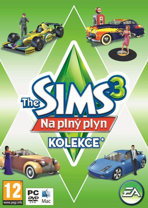 PC - THE SIMS 3 NA PLNÝ PLYN