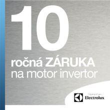 10-ročná záruka na motor invertor Electrolux