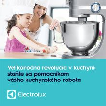 Súprava pomôcok na pečenie ku kuchynskému robotu Electrolux zadarmo
