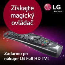 Získajte magický ovládač k televízoru LG