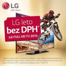 17% zľava na TV LG