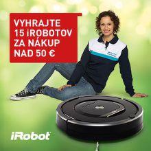 Súťaž o 15 iRobotov