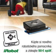 Cashback 50 € na iRobot Braava 380t