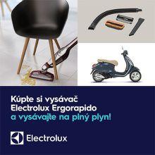 Vyhrajte skúter Vespa k vysávaču Electrolux