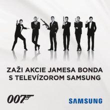 Získajte limitovanú edíciu filmov Jamesa Bonda k TV Samsung