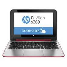 "HP Pavilion 11-n003 x360 PC 11.6"" N3520 W8.1, červený"