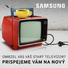 Cashback až do 1100 € na TV Samsung