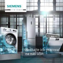 Cashback až do 128 € na A+++ spotrebiče Siemens