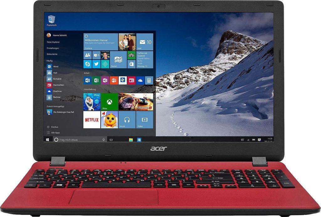 Výsledek obrázku pro Acer Aspire ES15 (ES1-531-P55L) červená