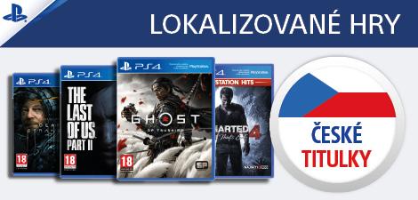 PS4 lokalizované hry