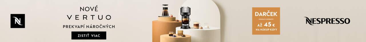 Nespresso akcia 10 2021