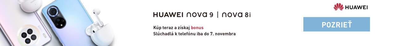 Huawei nova 9 a 8i predobjednavky