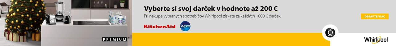 Whirlpool darcek k VBT nad 1000 €