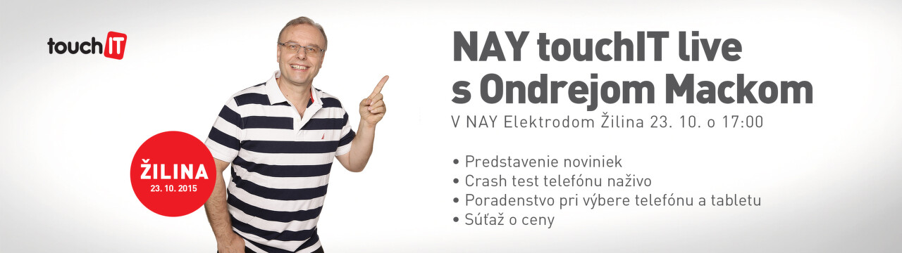 NAY Touch IT live s Ondrejom Mackom v Žiline