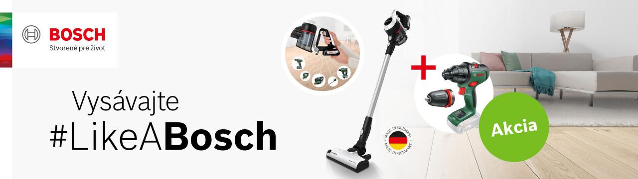 Darček k tyčovým vysávačom Bosch