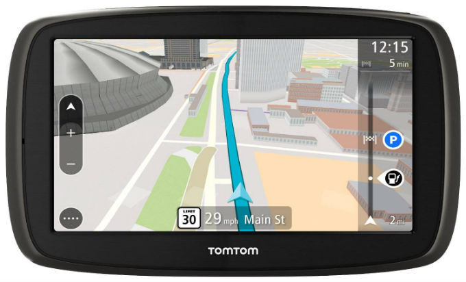 tomtom go 61 world traffic lifetime navig cia. Black Bedroom Furniture Sets. Home Design Ideas