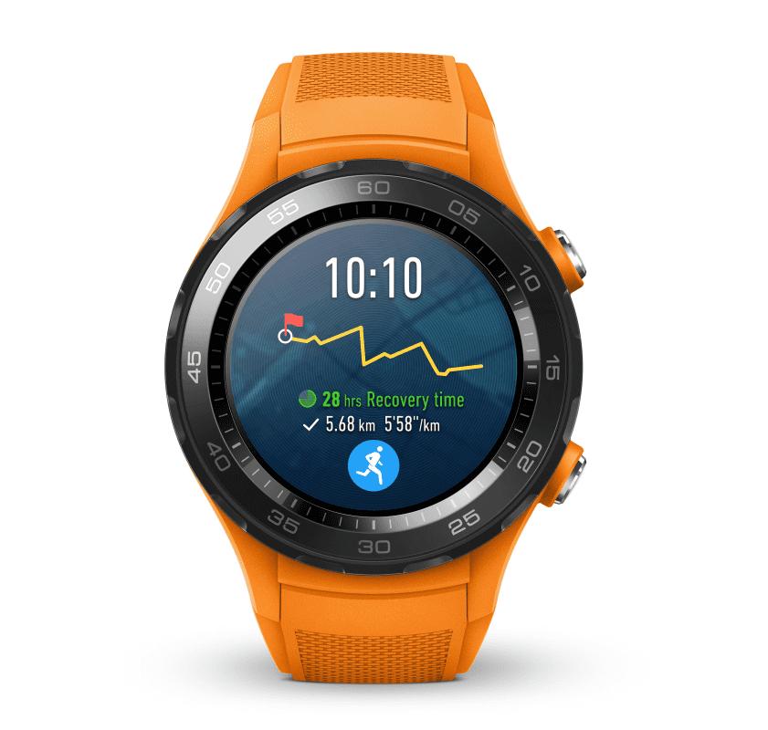 493cb893d Huawei Watch W2 S oranžové - Smart hodinky | Nay.sk