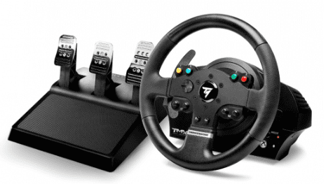 thrustmaster 4160566 t500 rs pc ps3 volant a ped le. Black Bedroom Furniture Sets. Home Design Ideas
