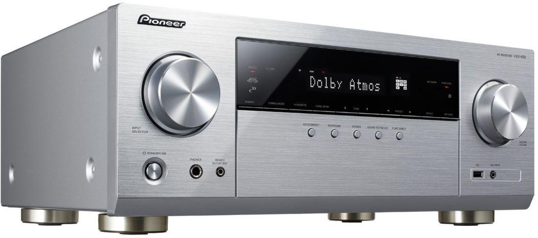 1349b12e7 Pioneer VSX-932 strieborný AV receiver | Nay.sk
