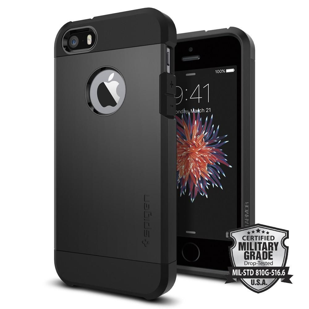 SPIGEN iPhone 5 5S SE Case Tough Armor aa680773e87