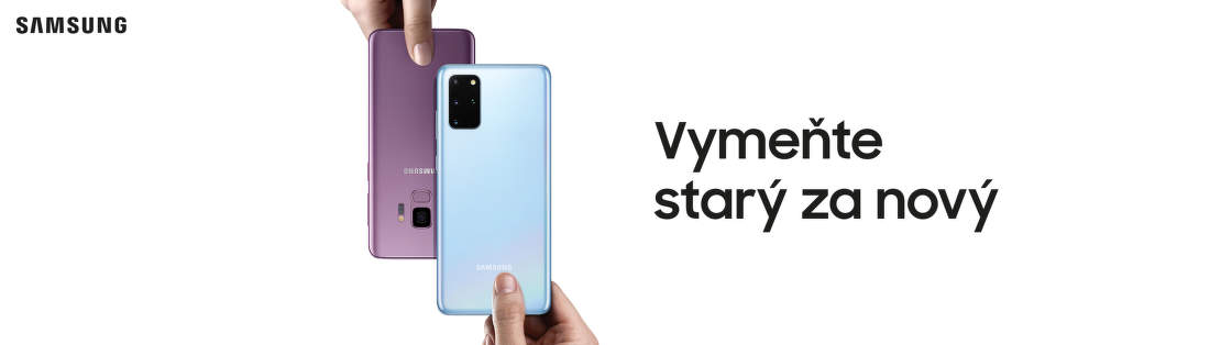 Získajte k Samsung Galaxy S20, S10 a Note10 až do 630€ za váš starý telefón