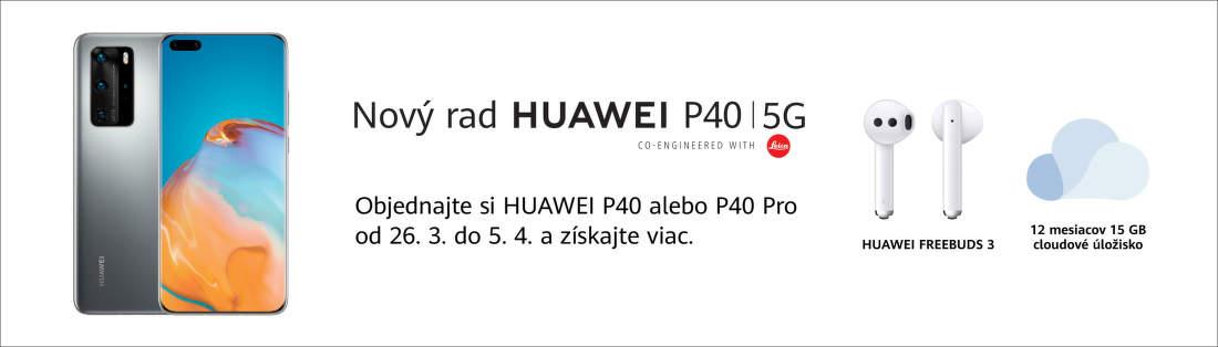 Darček k objednávke Huawei P40 a P40 Pro