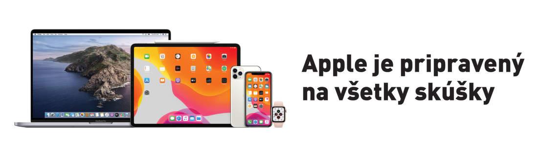 Apple je pripravený na všetky skúšky