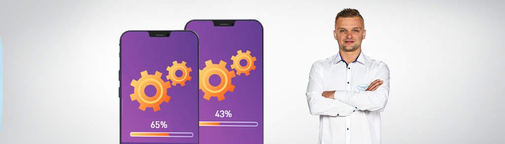 Inštalácia smartfónov