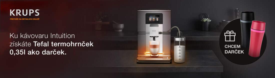 Darček ku kávovarom Krups Intuition