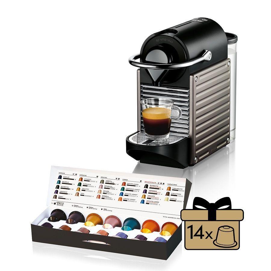 nespresso krups pixie electric titan xn3005 kapsulov. Black Bedroom Furniture Sets. Home Design Ideas