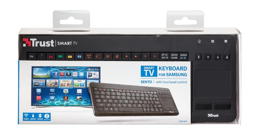 5ba165e7c Trust Sento Smart Samsung CZ/SK bezdrôtová klávesnica | Nay.sk