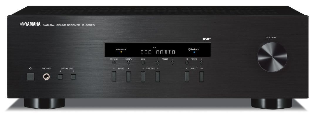 yamaha r s202 dab hi fi receiver ierny. Black Bedroom Furniture Sets. Home Design Ideas