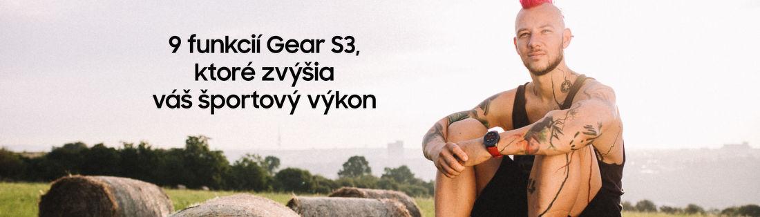 9 funkcií Gear S3, ktoré zvýšia váš športový výkon