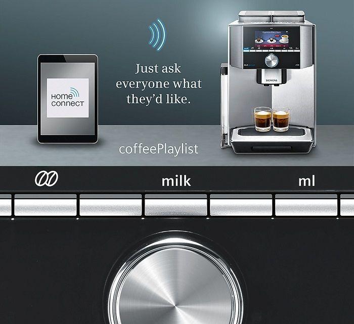 siemens ti909701hc eq 9 connect s900 automatick espresso. Black Bedroom Furniture Sets. Home Design Ideas