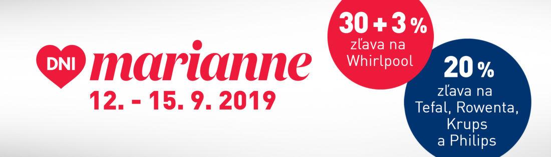 Zľavy až do 33% počas dní Marianne