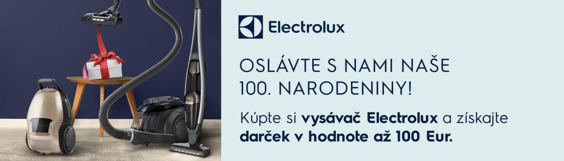 Darček k vysávačom Electrolux