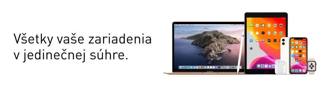 Apple: Všetky vaše zariadenia v jedinečnej súhre
