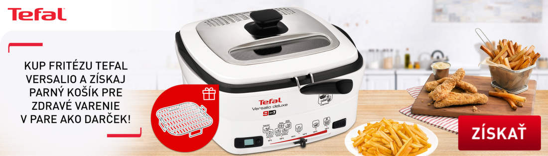 Darček k fritézam Tefal